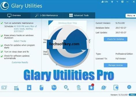 Glary Utilities Key