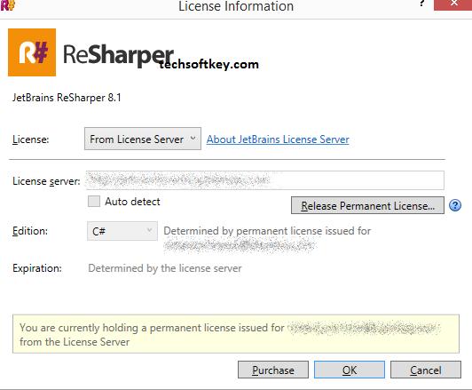JetBrains ReSharper Ultimate Key