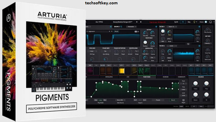 Arturia Pigments VST 2.1.2.3854 Crack + Torrent Free Download
