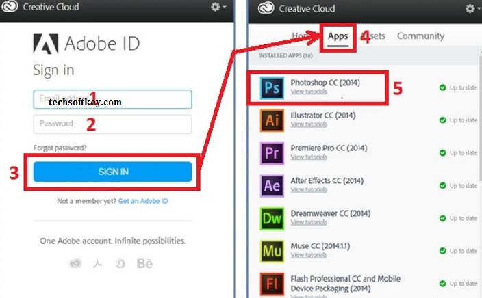 Adobe Creative Cloud Key